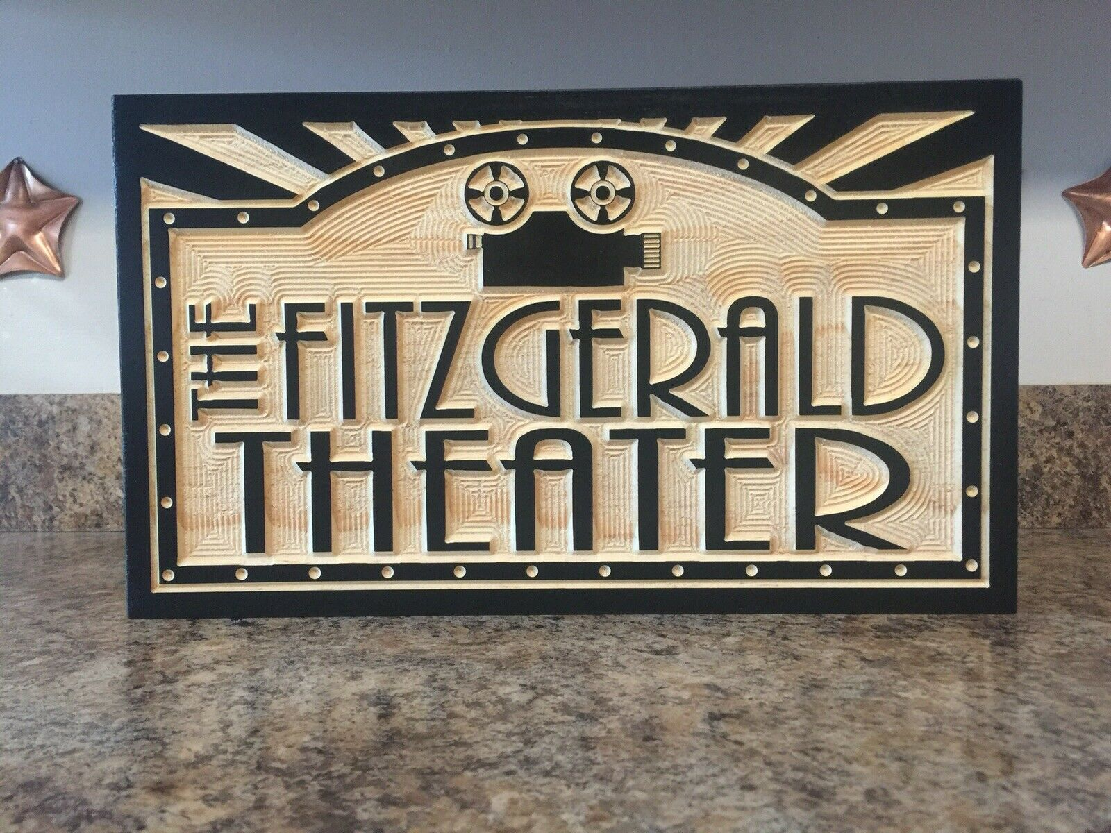 Movie Poster Home Theater Decor Man Cave Sign Personalized Gift Movie Room Decor