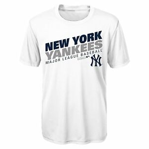 Image is loading New-York-Yankees-Majestic-Youth-Boys-Performance-White- 97070ba060e