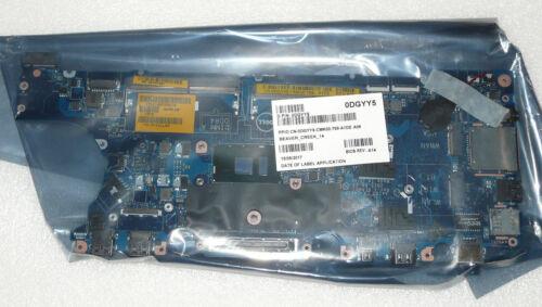 NEW GENUINE DELL LATITUDE E7470 MOTHERBOARD INTEL i5 6300U 3GHZ DGYY5 LA-C461P
