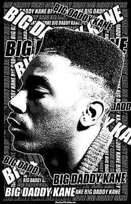 "11x17  /""Black Light/"" Poster BIG DADDY KANE 2"