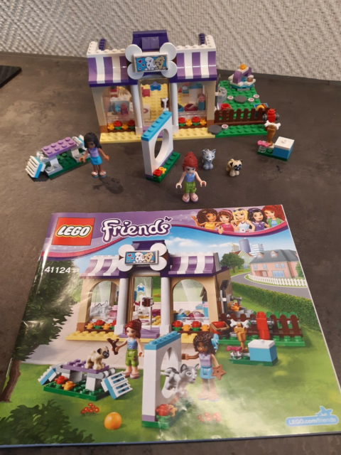 Lego Friends, 41124, Heartlake hvalpe dagpleje center,…