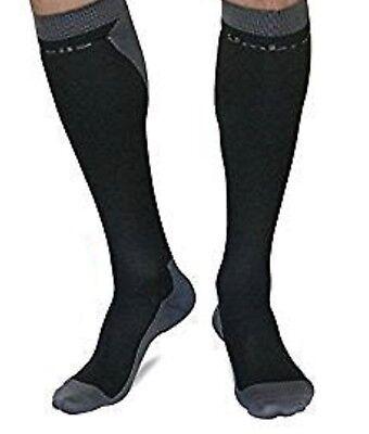 visesunny Sports Calf Compression Sleeves Leg Support Socks for Men Women 1 Pair