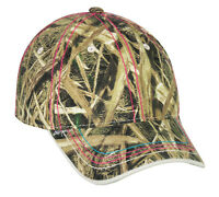 Women's Mossy Oak Shadow Grass Blades Camo Duck/goose Hunting Cap/hat 101lds-sgb