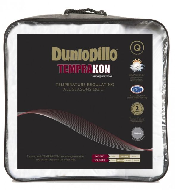 Dunlopillo Temprakon Temperature Regulating All Seasons QUEEN Quilt RRP $519.95
