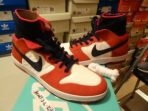 062d05204a6f NEW Nike SB Zoom Dunk High Elite UNIVERSITY RED COLLEGE NAVY 917567 ...