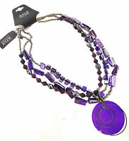 A.n.a. Purple Shell Necklace By Jcpenney