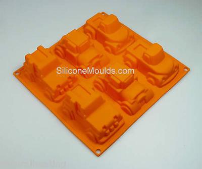 Orange 4x4 Pickup Truck Hot Rod Car Silicone Bakeware
