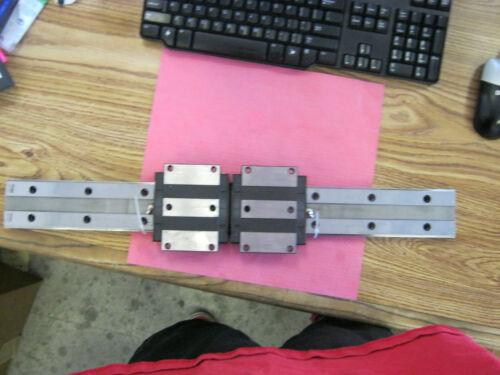 HRW35 Linear Bearing Block w// THK BRASIL Rail THK Model *W2