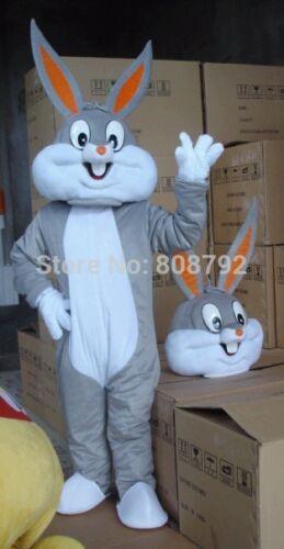 us Nuovo Bugs Bunny Taglia Adulto Mascotte Costume Coniglio Easter Abiti