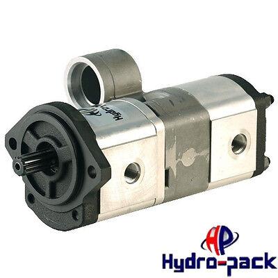 Hydraulische Doppelpumpe Tandempumpe OEM 3816911M91 22+19ccm MF
