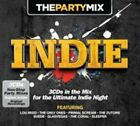 The Party Mix: Indie by Various Artists (CD, Apr-2014, 3 Discs, Crimson)
