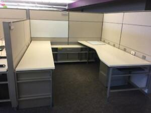 Ordinaire Image Is Loading Used Office Cubicles Herman Miller Canvas Cubicles 8x8