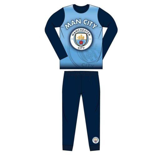 MANCHESTER CITY FC Pyjama/'s Boys Football Pyjama 2-12 ans-Choisir Taille