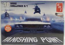 CARS : VANISHING POINT : 1970 DODGE CHALLENGER R/T 1/25 SCALE AMT MODEL KIT