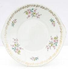 Vintage Royal Grafton Floral Spring Fine Bone China Cake Plate Floral