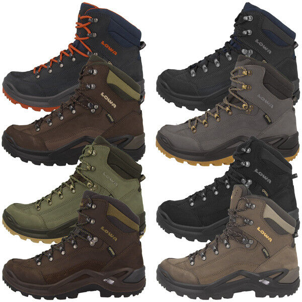 LOWA RENEGADE GTX MID MEN GORE-TEX HERREN OUTDOOR SCHUHE HIKING TREKKING Stiefel