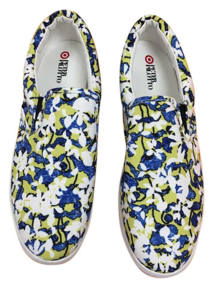 PETER PILOTTO FOR TARGET FLORAL FLOWERS CANVAS CANVAS CANVAS Turnschuhe schuhe SLIDES NWT 10 76af6c