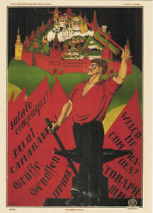 Long-Live-the-3rd-International-Modern-card-REPRO-of-1920-poster-by-D-Moor