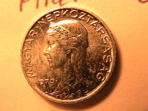1970-HUNGARY-5-Filler-Coin-Scarce-Choice-BU-Gem-Hungarian-Magyar-Five-Filler