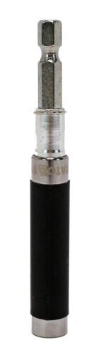 """Profi Bithalter Bit Halter 1//4/"""" Bits Magnetisch Tiefeneinstellung 80-110mm"""