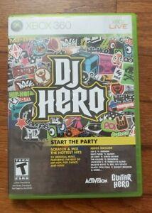 DJ HERO – MICROSOFT XBOX 360 – VIDEO GAME