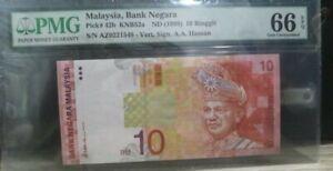 Malaysia Series9 RM10 Pmg66