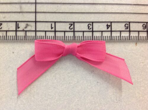 SMALL TAIL OPAQUE RIBBON BOWSVARIOUS COLOURS£1 PACK OF 10