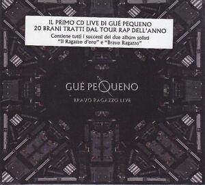 CD-Compact-disc-GUE-PEQUENO-BRAVO-RAGAZZO-LIVE-nuovo-digipack