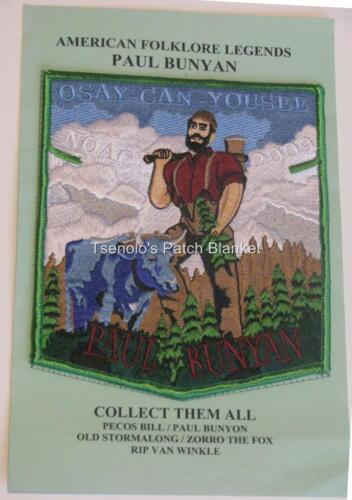 Logde 520 2009 NOAC set Paul Bunyon American Folklore Legends Mint FREE SHIP