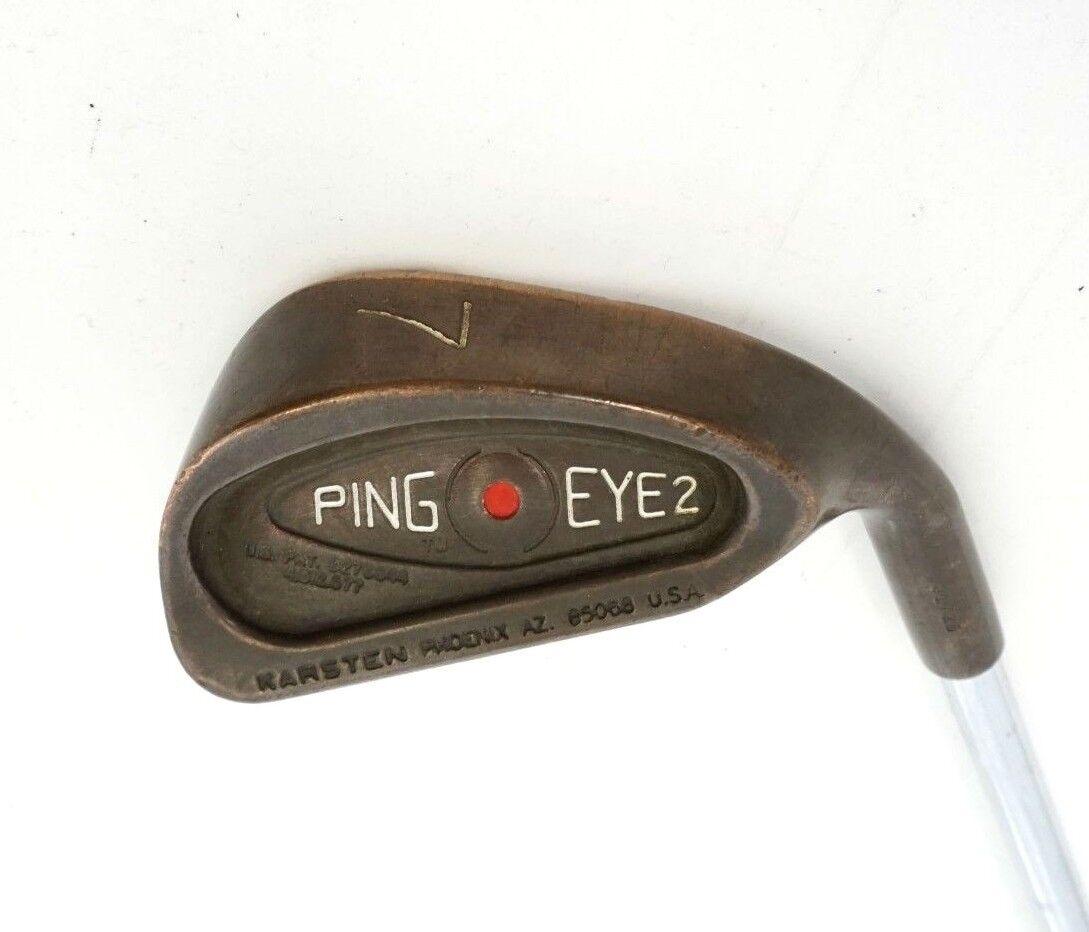 Ping Eye2 Punto Rojo Berilio Cobre Becu  7 Hierro Eje De Acero Rígido Ping Agarre  la calidad primero los consumidores primero