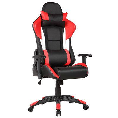 Gaming Bürostuhl Schreibtischstuhl Racing Drehstuhl Chefsessel Stuhl Bürosessel