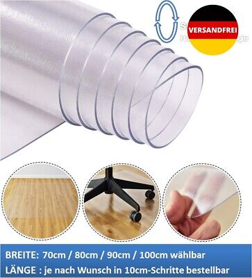 Büromöbel Clever Bodenschutzmatte Schutzmatte Transparent Bodenmatte Stuhlunterlage Wunschmaße 1a Bodenschutzmatten
