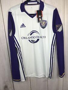 $150 Adidas Adizero Authentic Orlando City FC Long Sleeve Soccer ...