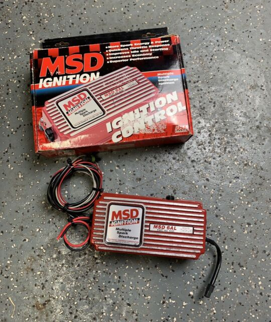 Msd Ignition 6al 6420 With 6000 Rpm Chip For Sale Online