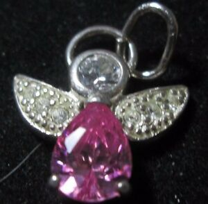 Vintage Rio Grande Sterling Silver 925 Charm Angel with Harp