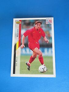 NILIS-BELGIQUE-BELGIE-Carte-Card-UPPER-DECK-USA-94-1994-panini