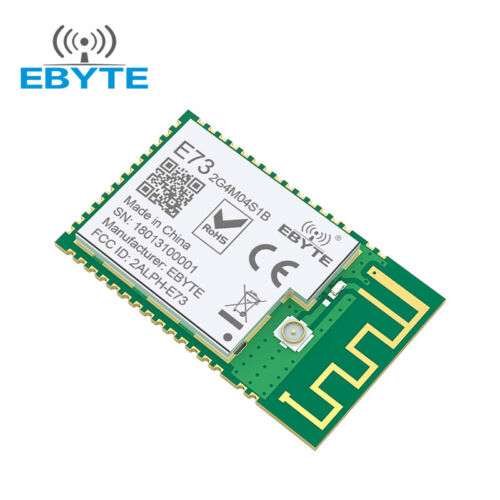 CE FCC nRF52832 E73-2G4M04S1B 2.4GHz SMD rf Wireless Module PCB /& IPX Connector