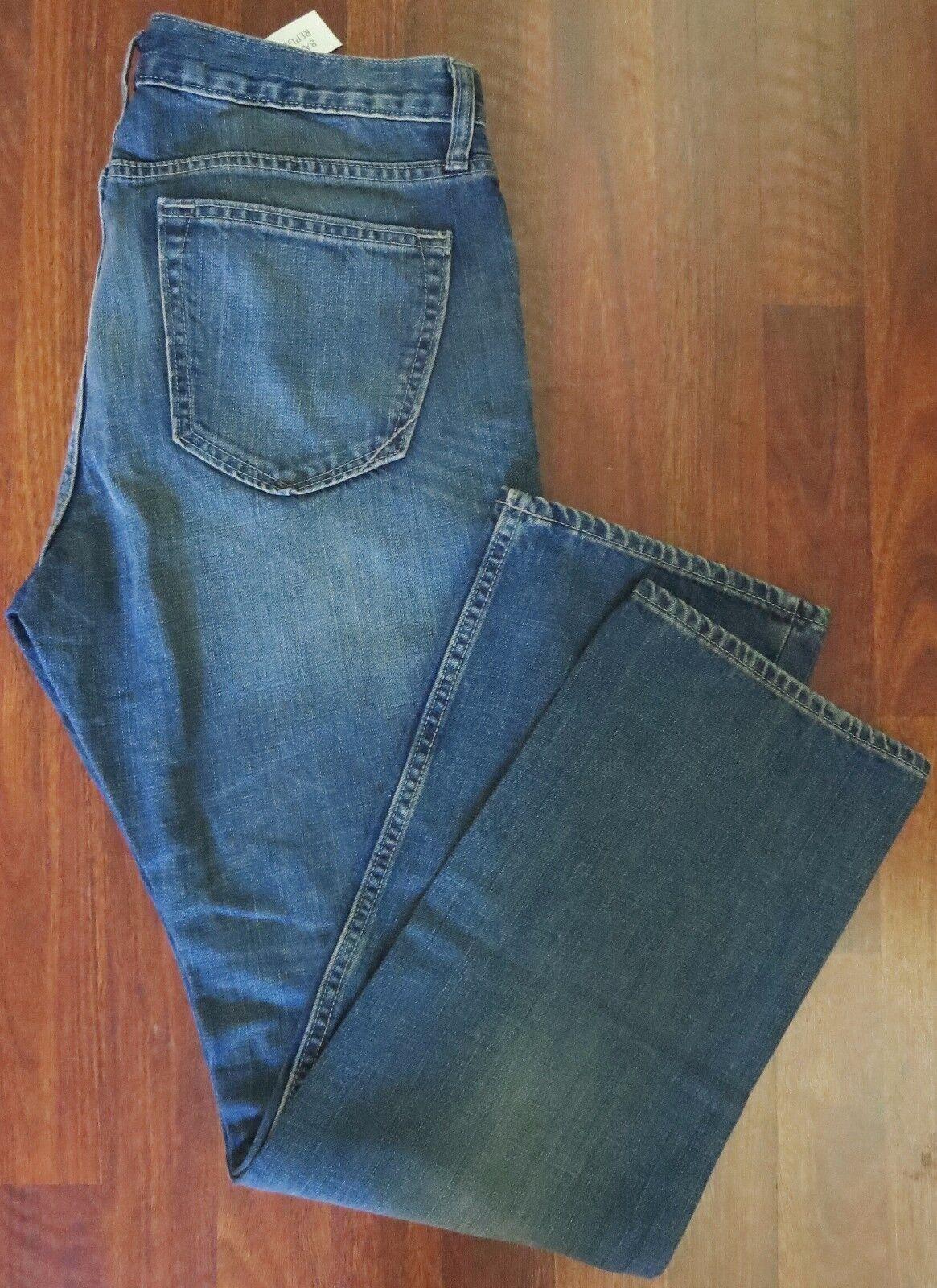 Banana Republic Jeans Jambe Hommes Droite Taille Hommes Jambe 32 X 32 Classique Délavé Lavage e043aa