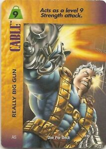 OVERPOWER-Cable-Really-Big-Gun-PowerSurge-OPD-Rare-Marvel
