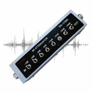 0-82DB-VARIABLE-STEP-ATTENUATOR-50-OHM-0-25W-for-Ham-Radio-Transmitter