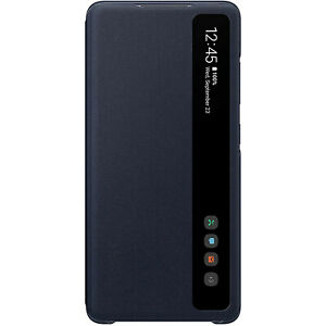 Original-Samsung-Clear-View-Cover-EF-ZG780-fuer-Galaxy-S20-FE-FanEdition-Navy