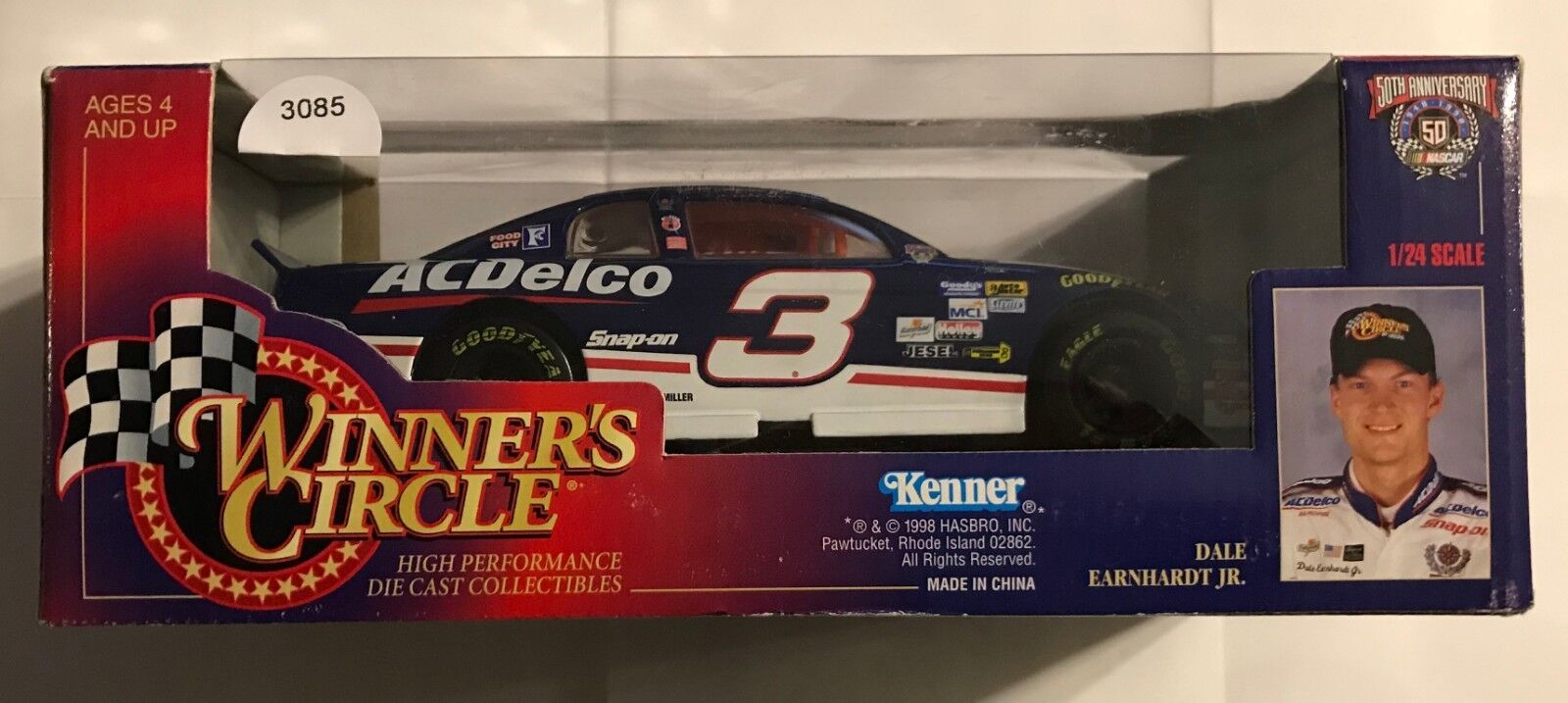 1998 WINNER'S CIRCLE   3 DALE EARNHARDT,JR. - ACDelco - 1 24TH     3085