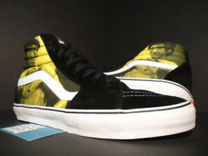 03c8cc346ebd 2013 VANS SK8-HI PRO SUPREME BRUCE LEE S YELLOW BLACK WHITE VN ...