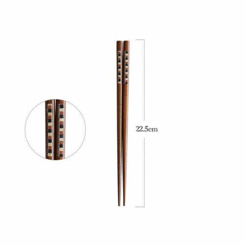 Handmade Wooden Chopstick Kitchen Food Sushi Stick Household Dinnerware Utensils