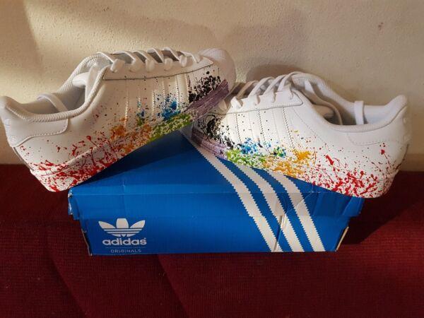 Chaussures Spray Superstar Adidas Avec Coloré nm80wN