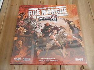 Zombicide - Box Saison 3: Rue Morgue Edge Jeu de société Miniatures