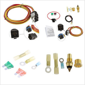 Prime Car Suv Heavy Duty Single Electric Fan Relay Wiring Harness Wiring 101 Breceaxxcnl