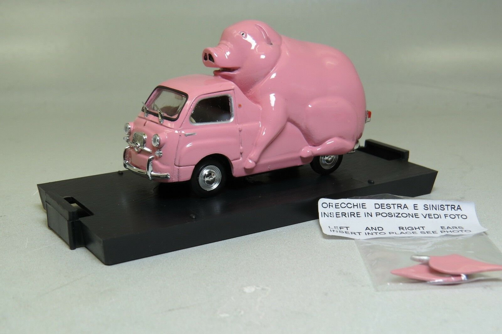 S10/47 ( Limited Edition 300 pcs ) Fiat 600D Multipla Piggy Moneybox Brumm