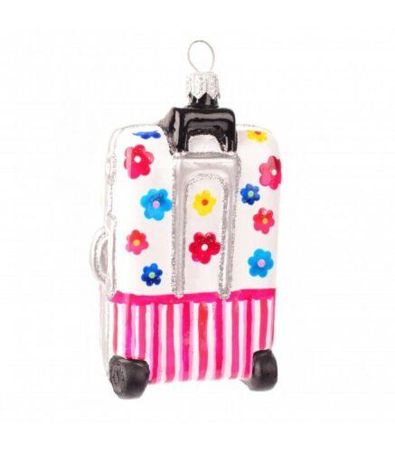 Novelty Handmade Suitcase Christmas Ornament Bauble Tree Decorations Gift Idea