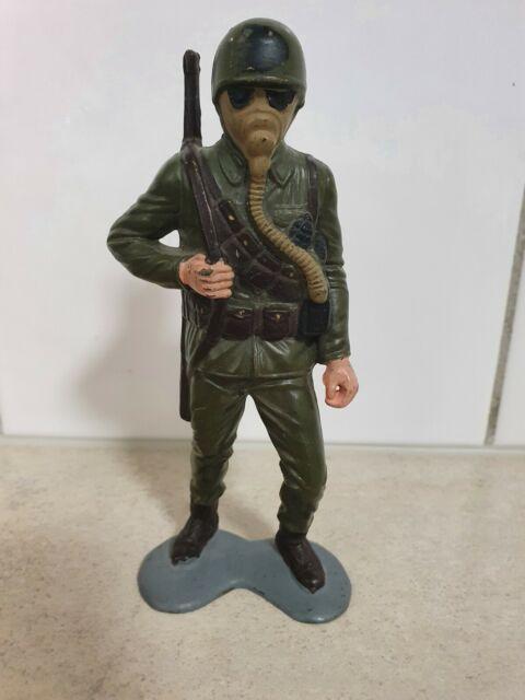 14cm COMBAT SOLDIERS  LOUIS MARX & CO. INC.1963 HONG KONG
